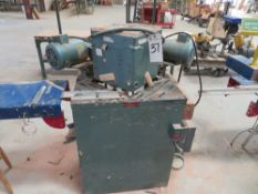 CTD Double Miter Saw, 10'' Blade, 1.5hp w/ Infeed