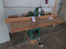 Woodtek mod. A92873, Multi Spindle Horiz. Boring Machine, 1 1/2hp