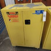 Securall 30 Gal. 18''D x 43''W x 49''T Safety Storage Cabinet for Flammable Liquids