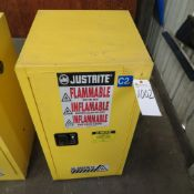 JustRite 12 Gal. 18''D x 23''W x 35''T Storage Cabinet (No Pipe/Wire)