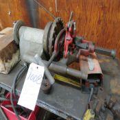 (Lot) Ridgid 300 Pipe Threader w/ Dies & Ridgid Oil (No Pipe/Wire)