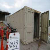 (Lot) (2) Steel Storage Containers