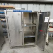 Strong Hold 24''D x 36''W x 66''T, S.S. Storage Cabinet