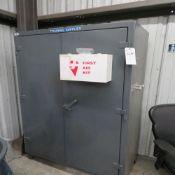 Strong Hold 24''D x 48''W x 77.5''T Dbl. Door Steel Storage Cabinet