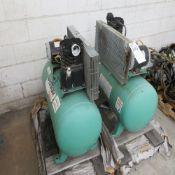 (Lot) (3) Speedaire Air Compressors