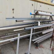 (Lot) Material w/ (3) Pallets Hoses & Pumps