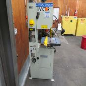 Victor mod. LCM-14V, 14'' Vertical Band Saw w/ Butt Welder LSW (No Wire)