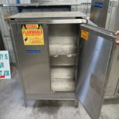Securall mod. A330, 30 Gal., 18''D x 43''W x 53''T Safety Storage Cabinet for Flammable Liquids