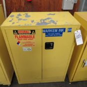 Securall 30 Gal. 18''D x 43''W x 44''T Storage Cabinet (No Pipe/Wire)