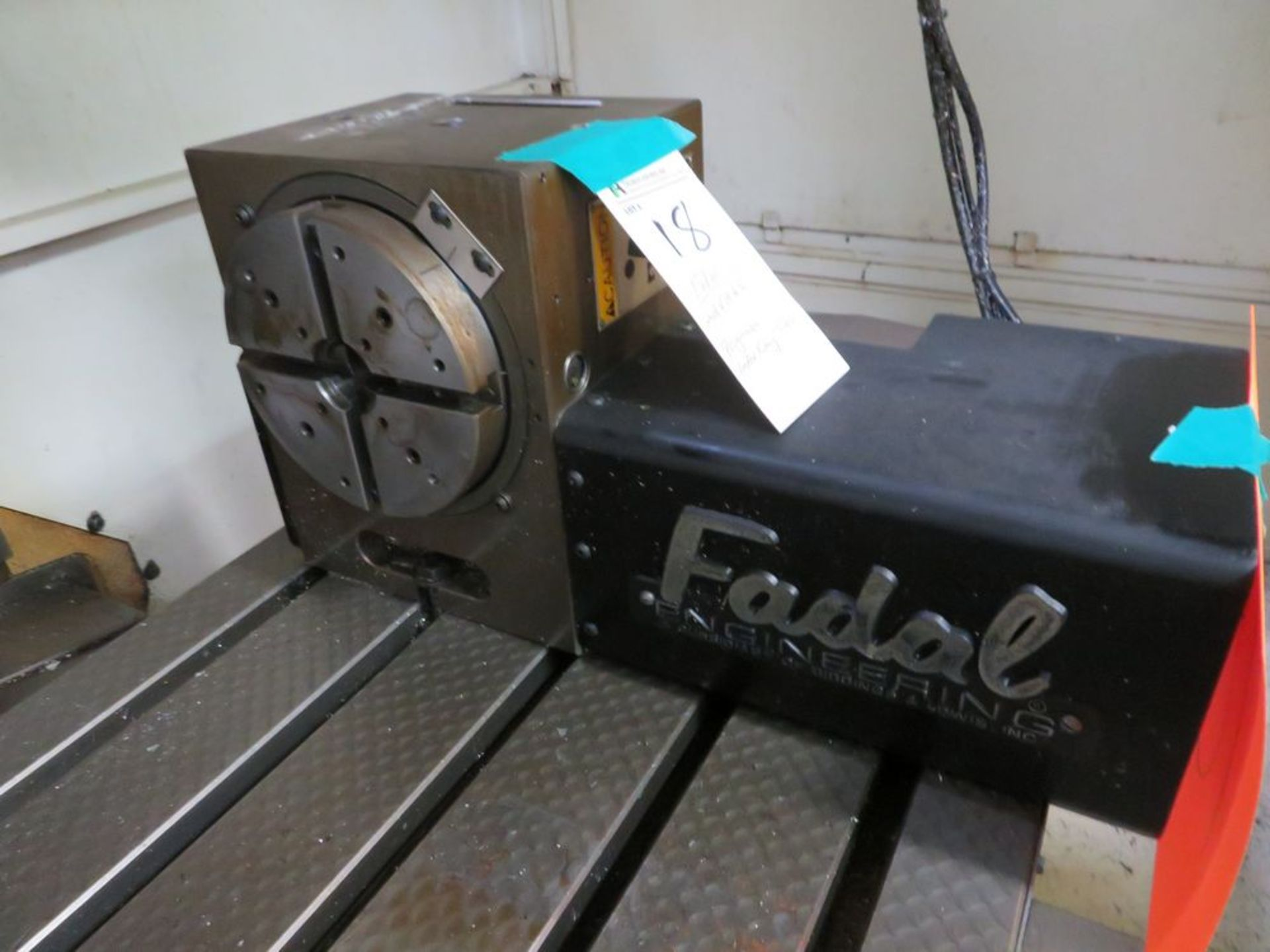 Fadal mod. VH65, Programmable Index Rotary Table - Image 2 of 3