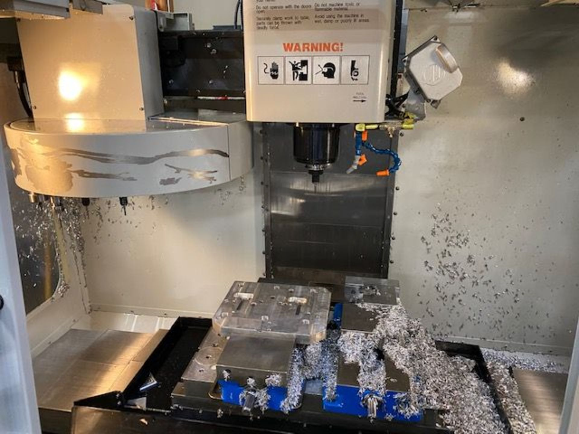 (2008) Haas Mod. VF-1 208/230 Volt, 3 Phase, Vertical Mill; S/N 1069874 (Located at 1821 E Jackson - Image 2 of 5