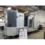 (11/2004) Mori Seiki NH 500/5 Horizontal CNC Machine Center w/ Mori Seiki MSX-501 CNC Controls, Chip