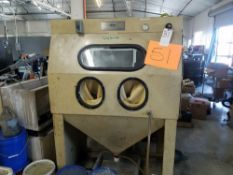 ICM Sand Blast Cabinet w/ Dust Collector