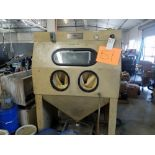ICM Sand Blast Cabinet w/ Dust Collector