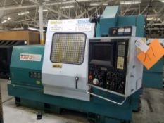 Nakamura Tome, Slant 3 CNC Turning Center w/ Fanuc II CNC Controls, 4th Axis, 10'' Chuck, 10