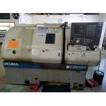 (1996) Okuma Crown CNC Turning Center w/ Okuma OSP700L CNC Controls, 12-Position Turret,