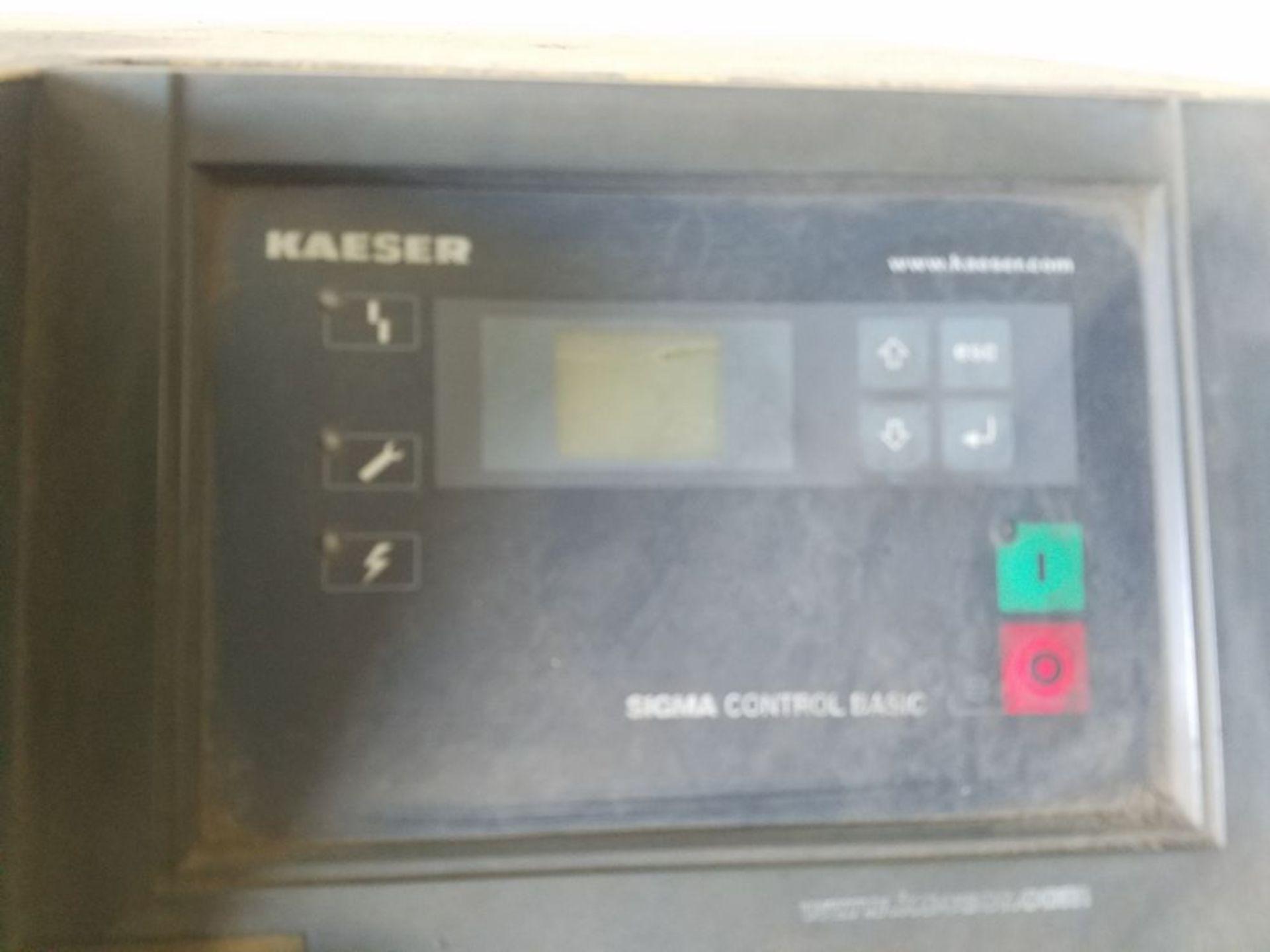 (2005) Kaeser mod. TA-11 and SMII, 10hp Rotary Screen Air Compressor - Image 3 of 4