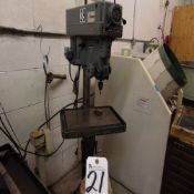 Clausing mod. 1673, Variable Speed Pedestal Drill Press; S/N 515390