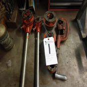 (Lot) Pipe Threader w/ Dies & Pipe Cutter