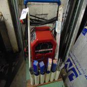 Lincoln mod. AC-225, Arc Welder w/ Welding Rod & Cart