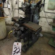 K&TM Horizontal/Vertical Milling Machine w/ DROs S/N 4-8413