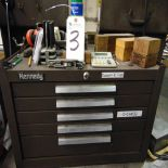 (Lot) Kennedy 5-Door Tool Box w/ Contents