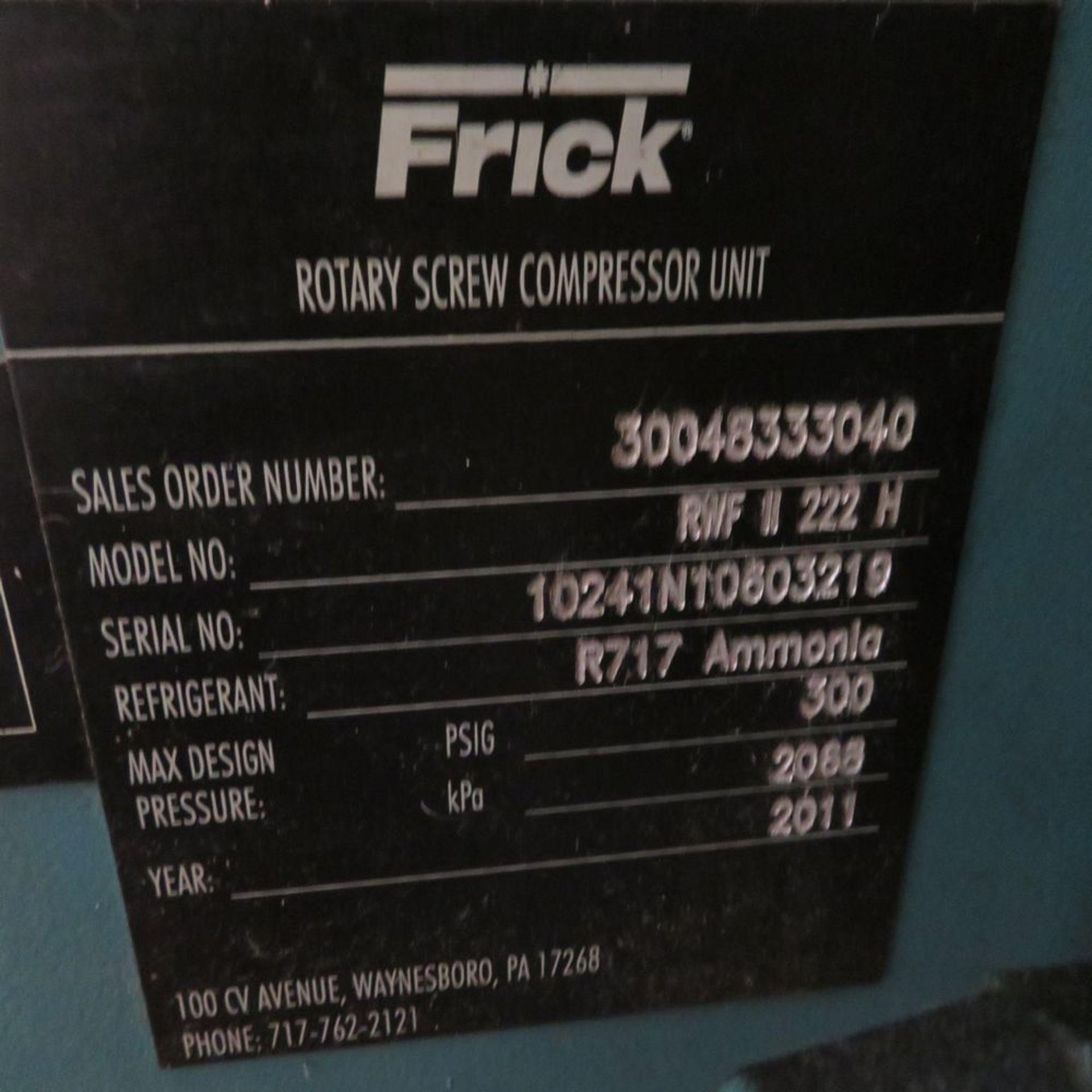 (2011) Frick mod. RWF11222H, 570hp Rotary - Image 8 of 8