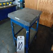 (Lot) 36'' x 30'' Granite Surface Plate w/ Stand