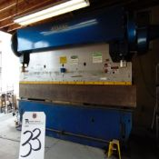 Wysong mod. 150-12, 12' x 150-Ton Power Press Brake w/ 3'' Stroke, 5'' Adj. 20'' Max Die Space; S/