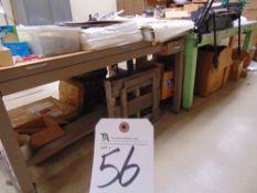 (Lot) (5) Tables, Approx. 36''D x 91''W x 35''T (No Contents)