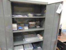 (Lot) Cabinet w/ Contents