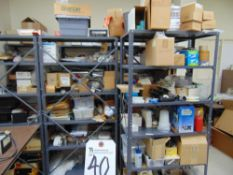(Lot) Misc. Contents of (7) Shelves w/ Shelves