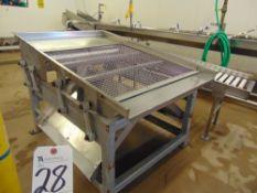 S.S. Shaker on Mild Steel Frame, 6'L x 4'W