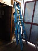 8' x 6' Fiberglass Step Ladders