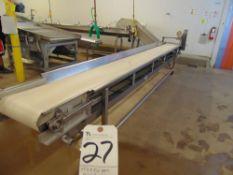 17'L x 2'W Portable Belt Conveyor