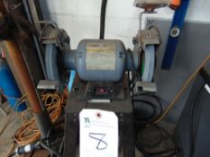 Central Machinery 8'' Bench Grinder w/ Light