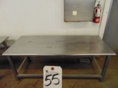70'' x 29'' S.S. Table