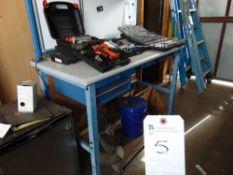 Global 30'' x 60'' x 42''T Work Bench w/ Power