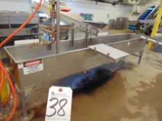 12'L x 2'W S.S. Washing Tub