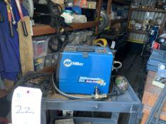 Miller 211 Auto Set w/ Mop 120/230V Wire Welder