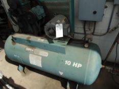 Curtis mod. G4NCE, 10hp Compressor w/ Zeks Dryer