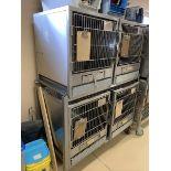 Shore-Line Pet Cage 4 Compartment