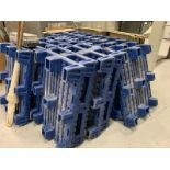 Lot of 20 plastic paper pallets by Stratis w/ wooden trays