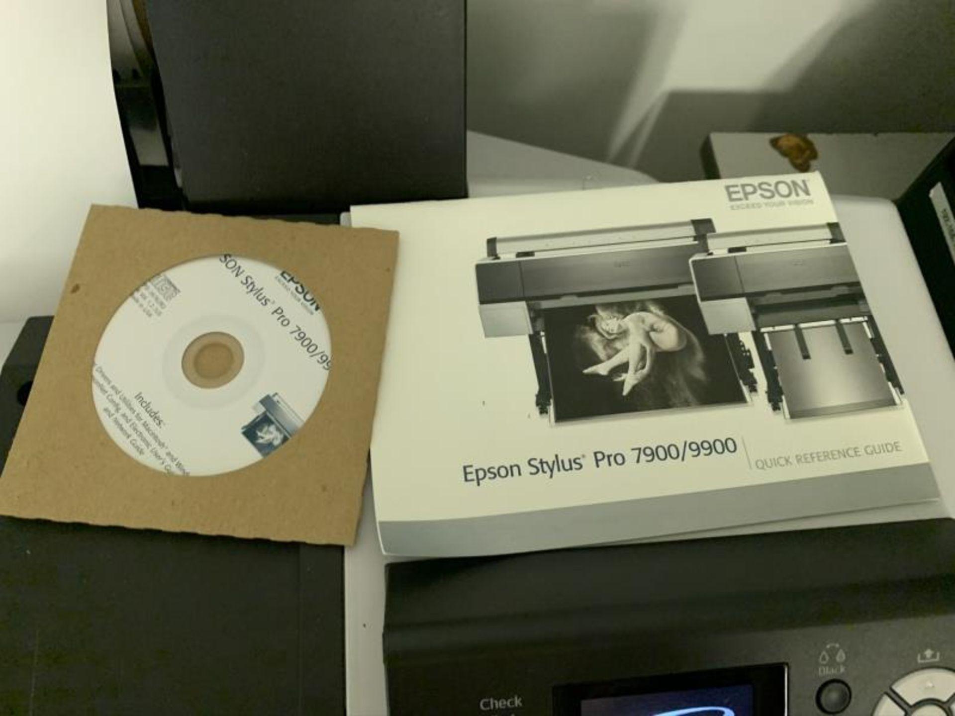 Lot 21 - Espson Pro9800 Large Format Printer, Mothballed