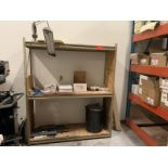 Small brown shelf