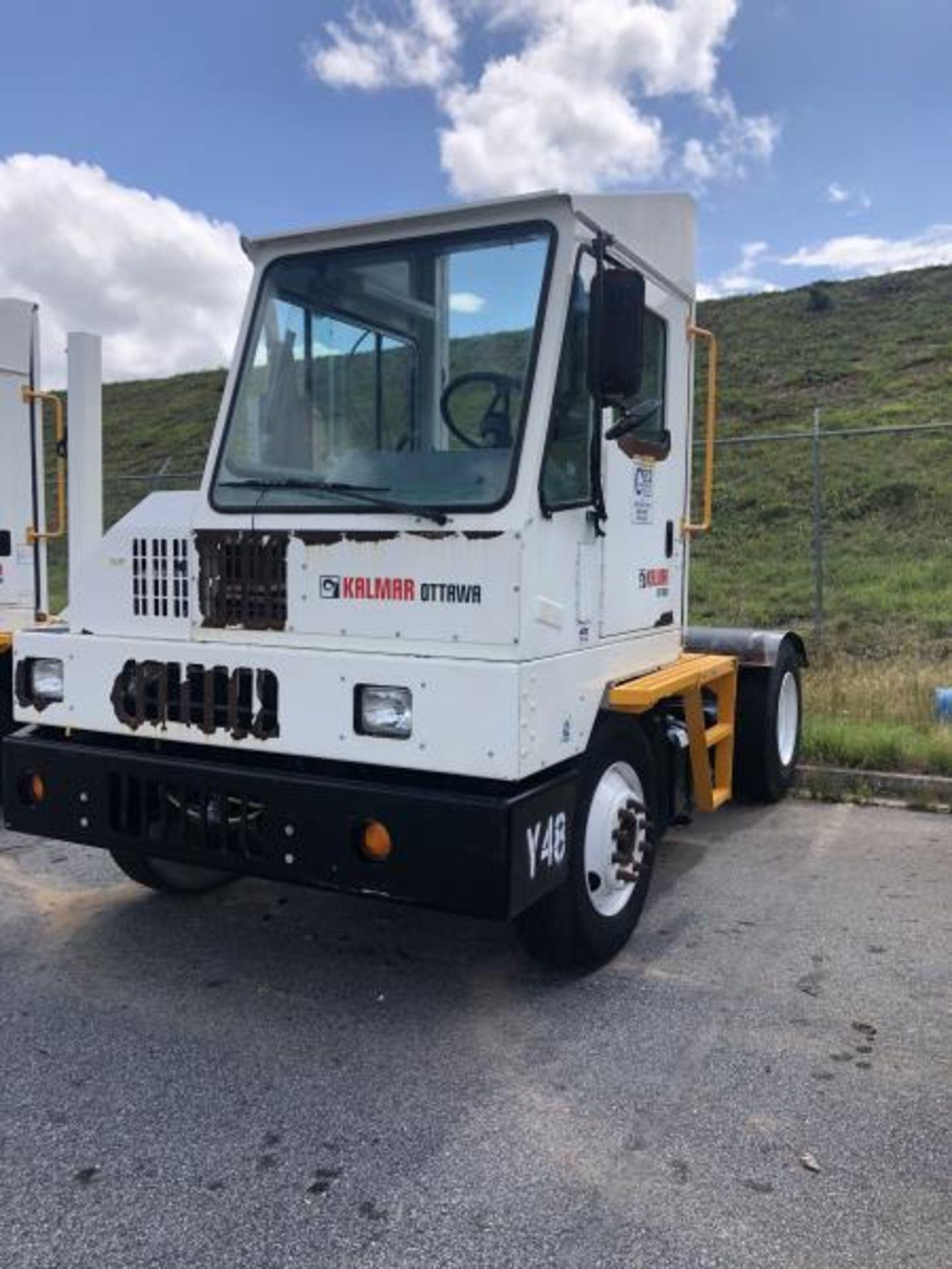 2015 Kalmar Ottawa 4x2 Yard Truck , SN: 338842 1,308.2 Hours, 937 Miles