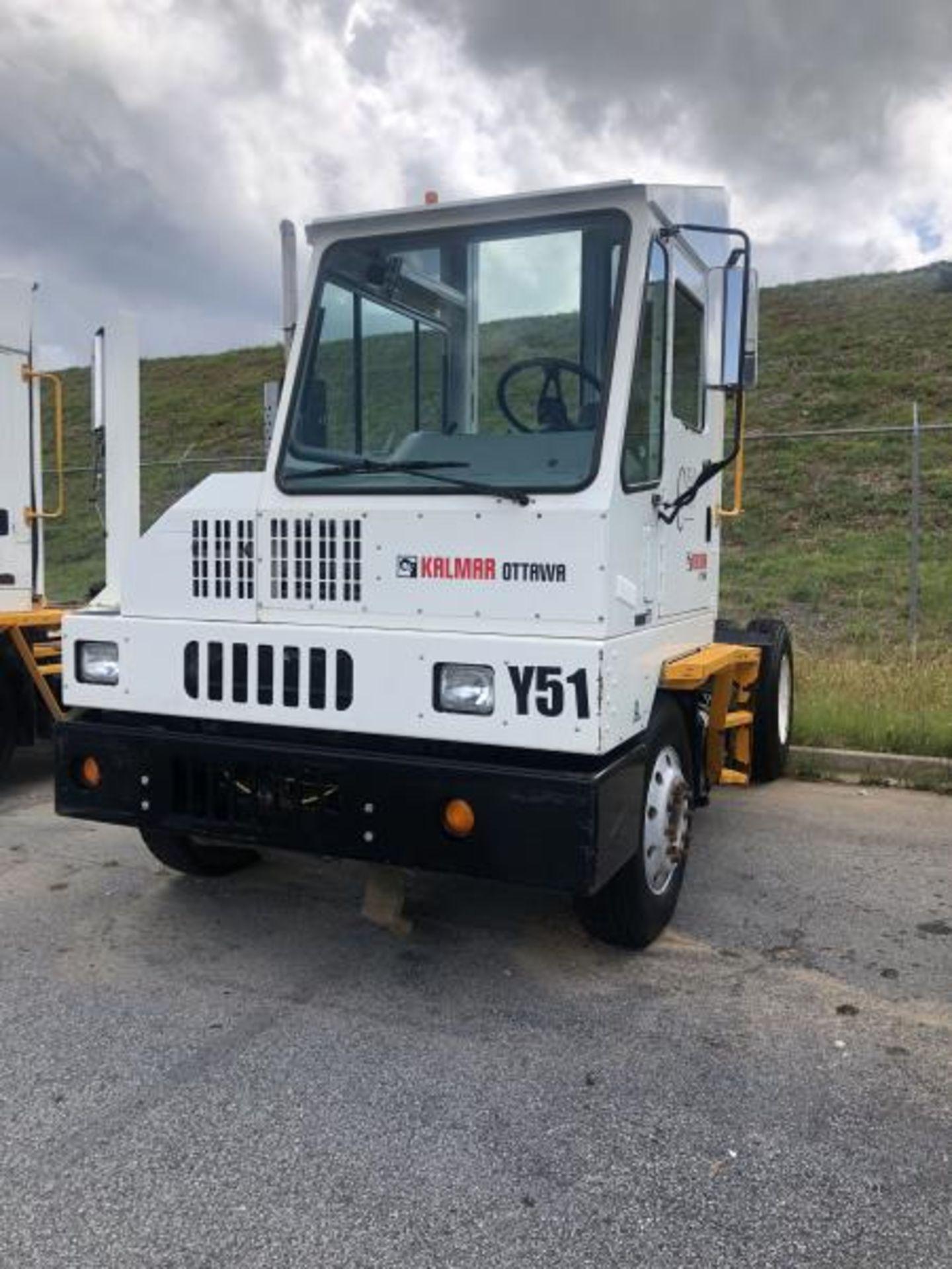 2015 Kalmar Ottawa 4x2 Yard Truck , SN: 338845 2,600.5 Hours, 185 Miles