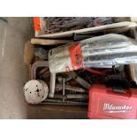 5 Piece file set, clamp, hole saw kit by Milwaukee