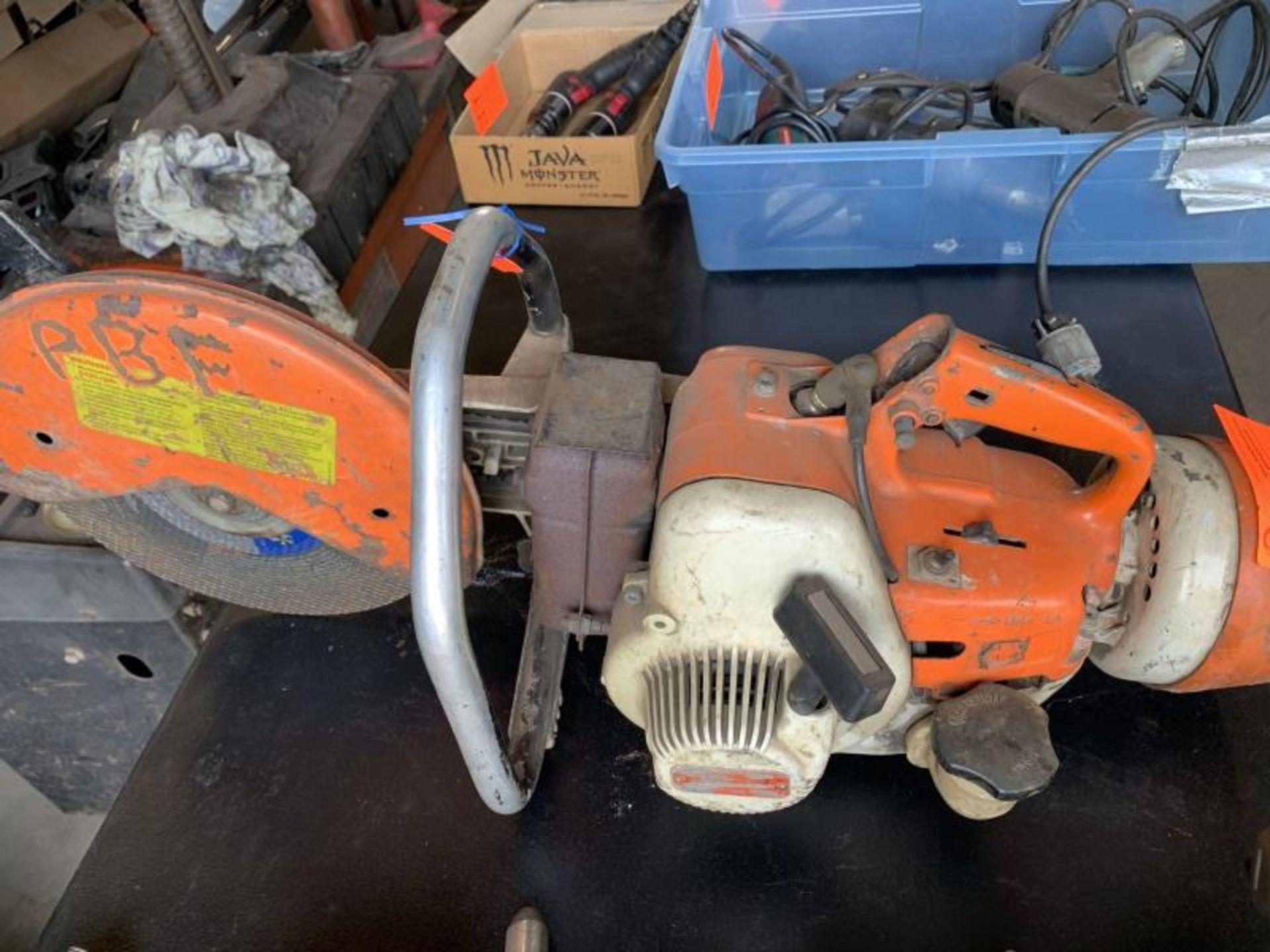 Lot 79 - Stihl TS350 super demo saw