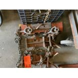 Welding pipe clamps